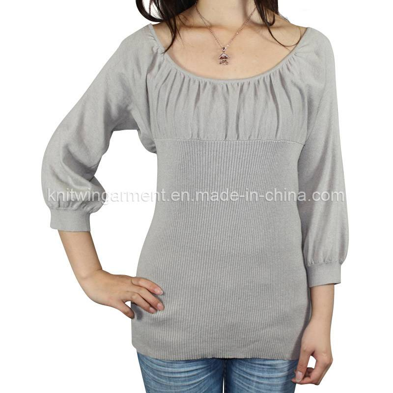 Fashion Women Knitted Long Sleeve Pullover Sweater