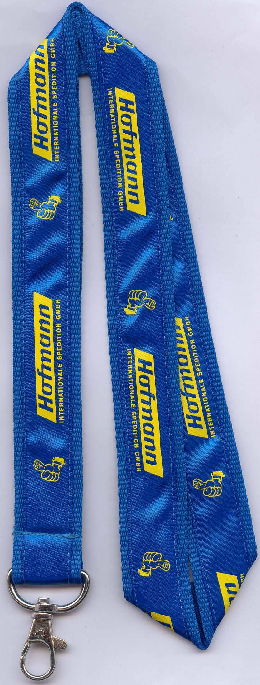 Ribbon Silk-screened Lanyards