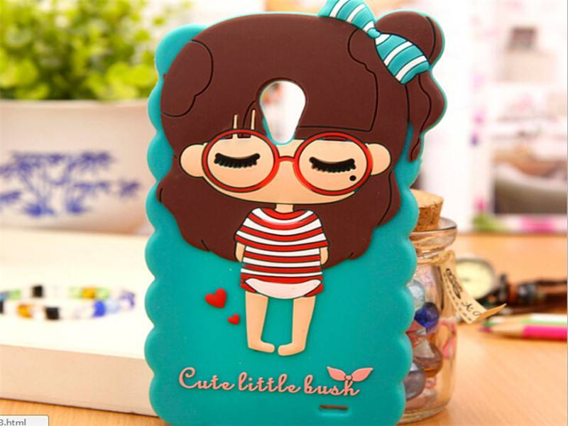 Custom silicone mobile phone cover
