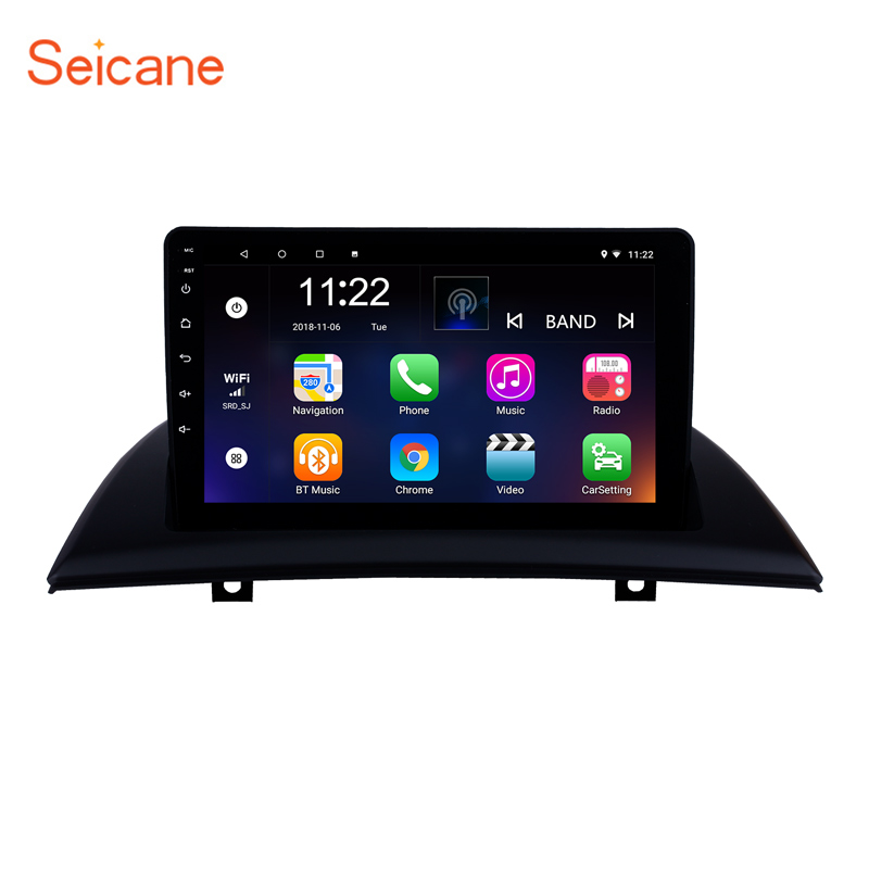 9 Inch Android 8.1 GPS Navigation system for 2004-2012 BMW X3 E83 with Bluetooth AM FM support OBD