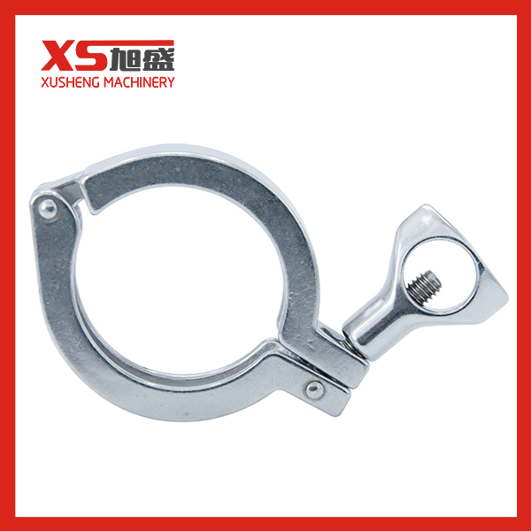 304 Sanitary Stainless Steel Single Pins Pipe Clamp