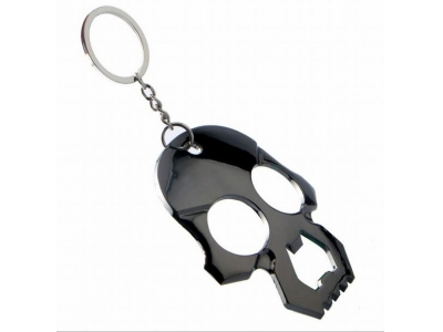 Cool Skull Bottle Opener Keychain