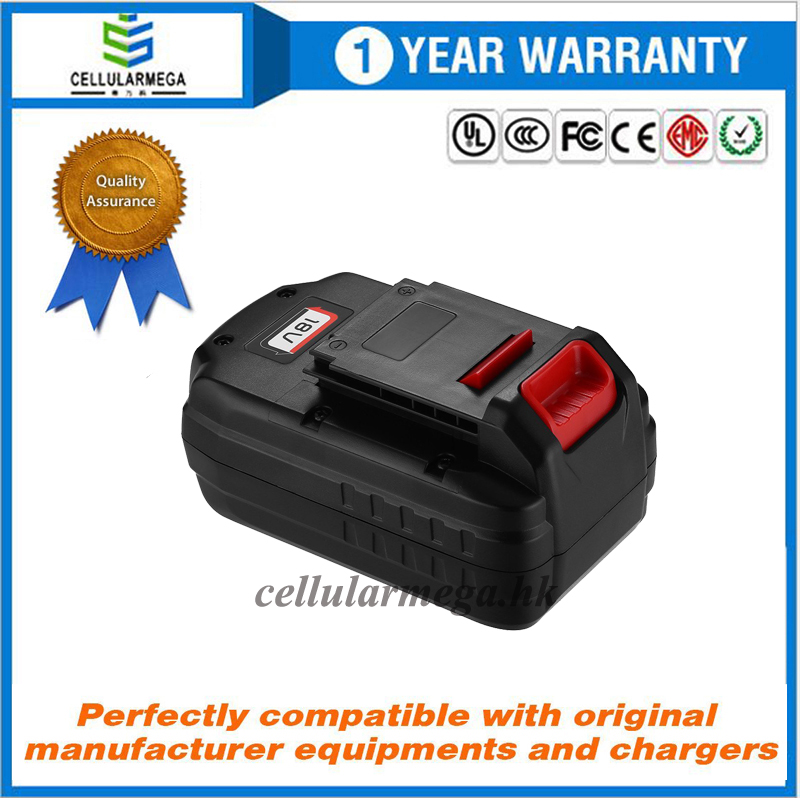 18V 3.0Ah Replacement Battery for Porter Cable PC18B-2 18-Volt Cordless Tools Batteries