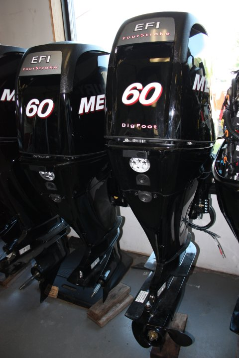 Used Mercury 60hp Outboard Engine for Sale