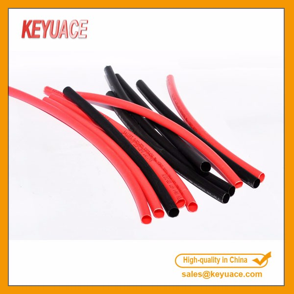 KY-SR 1.7:1 Flexible Silicone Rubber Heat Shrink Sleeves/Halogen Free/High Temperature Resistant Hea