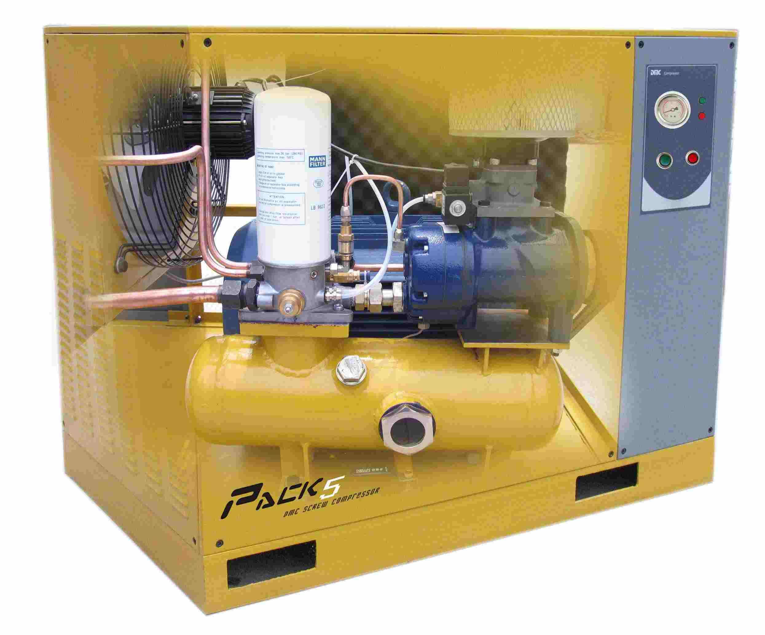 3-7.5hp screw compressor with CE approval