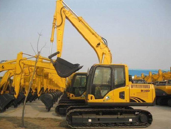 7-16 Ton Crawler Excavator