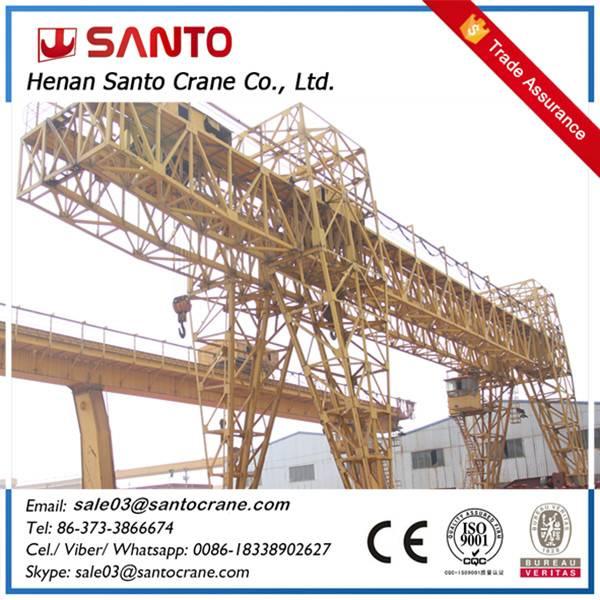 MH type single girder beam hoist travelling gantry crane