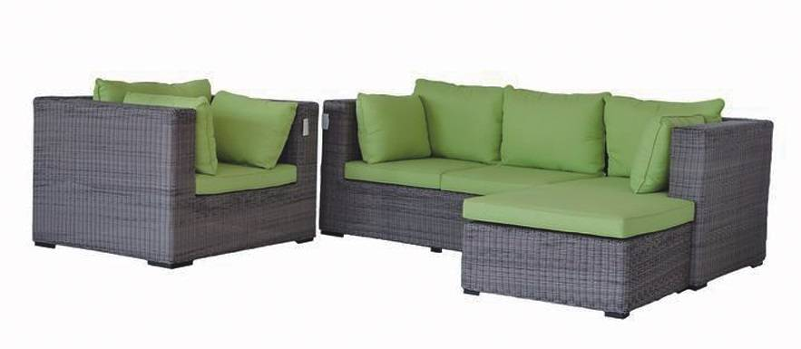 Outdoor Wicker/Rattan Sofa Set