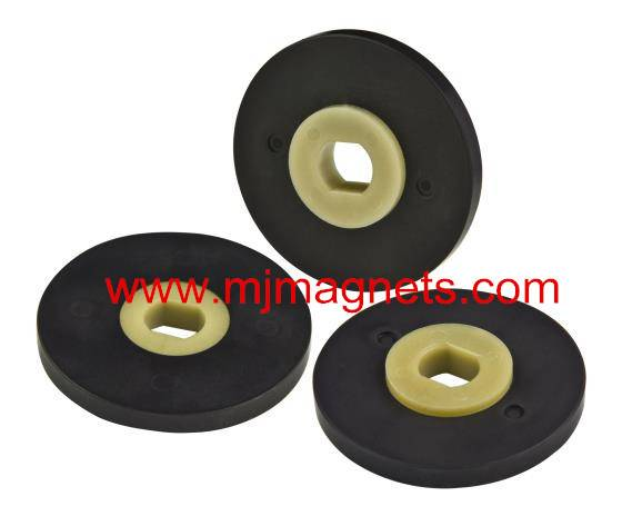 plastic injection molded permanent magnet for automotive