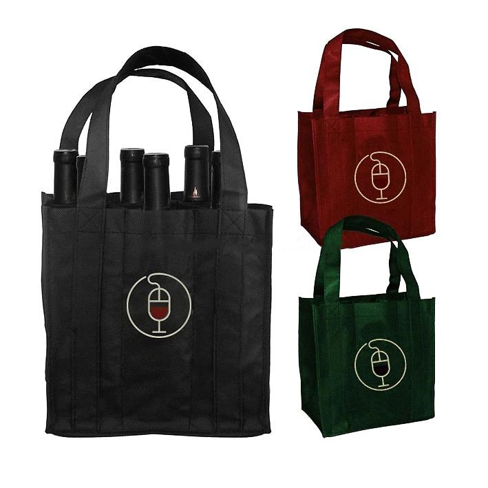Non-Woven Gift Wine Bags(KM-WNB0050), Bags Promotion Packing Bags