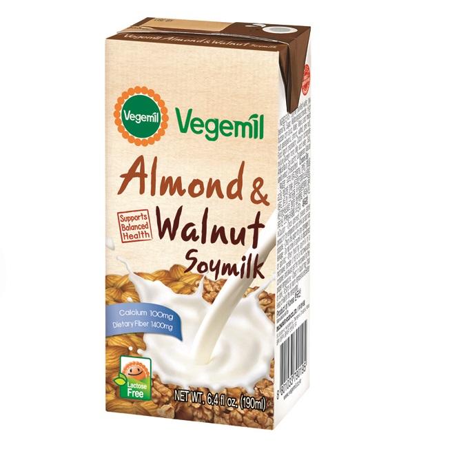 Vegemil Almond and Walnut Soy Milk