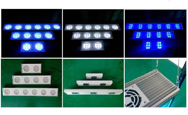 Wholesale 72W to 288W led aquarium lighting fit for 300-1500mm fish tank