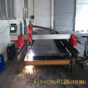 mini gantry cnc profile cutting machine