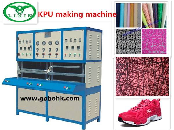 Kpu / PU Running Shoes Making Machine