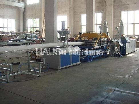 Plastic Pipe Machinery_UPVC Pipe Extrusion Production Line Machinery
