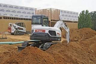 Rubber track for BOBCAT Mini Excavators & Compact Track Loaders