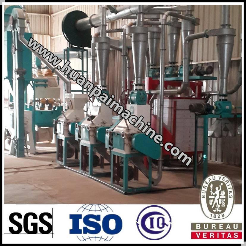Excellent wheat flour processing plant