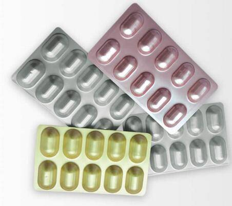 Capsules and Pills Packaging Cold Form Laminate Alu Alu Foil