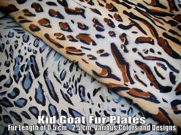 Kid Goat Fur Plates