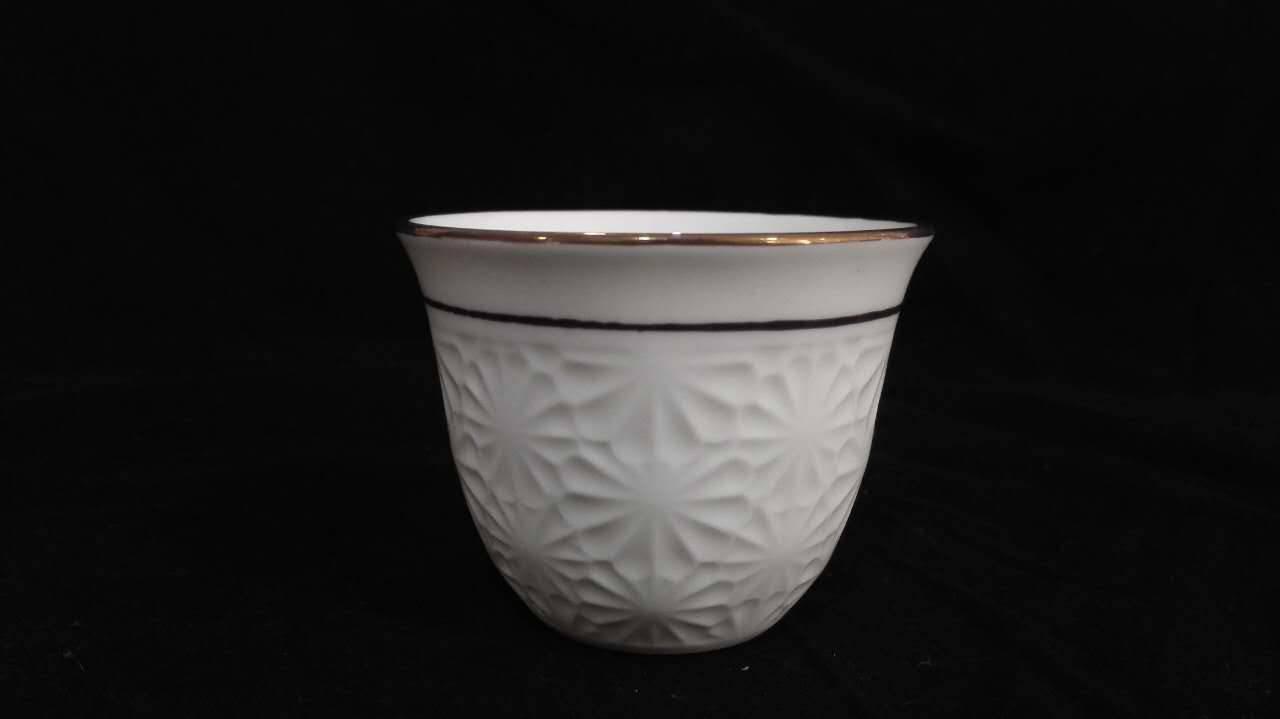 12pcs/set arabic cawa cup ceramic cup