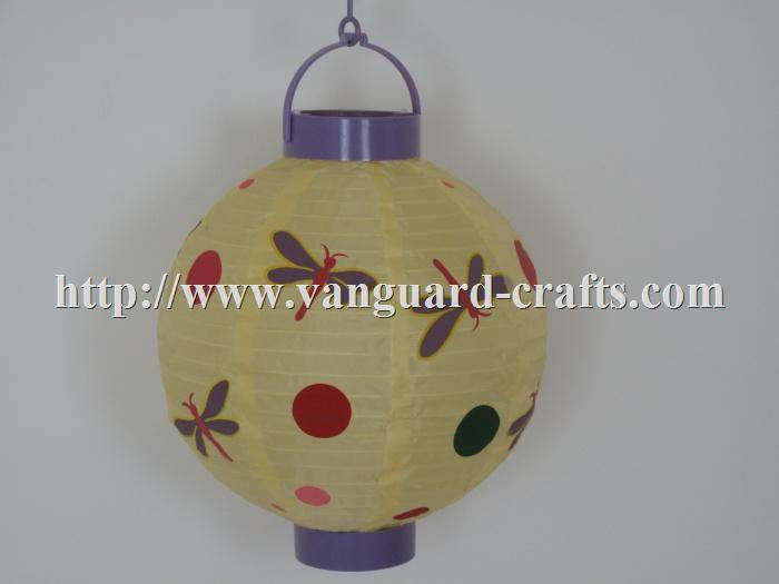Holiday Battery Operated Nylon Lanterns