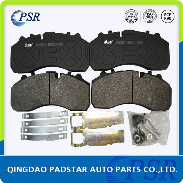 High quality truck brake pad wva29087 with e1 certificate