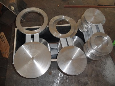 DIN GB JIS GOST Stainless Steel Spectacle Blind Flange