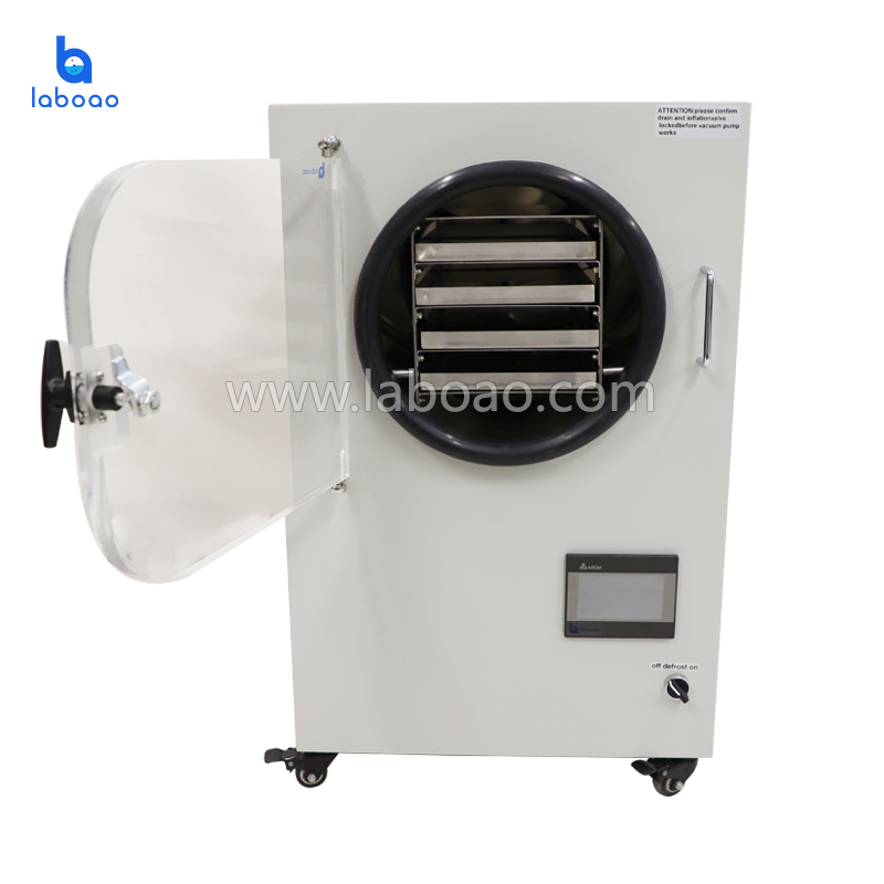 Mini small vacuum home freeze dryer for food fruits meat in China