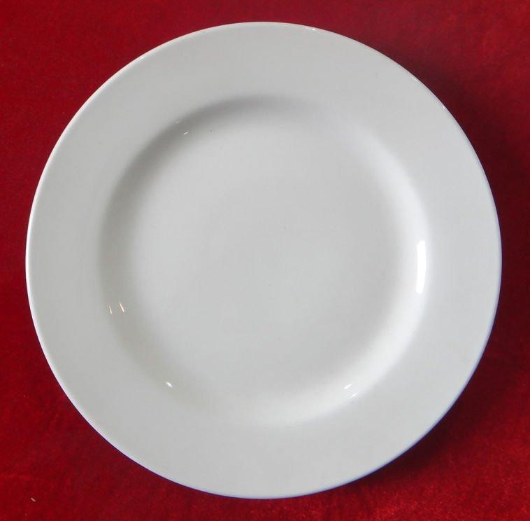 ceramic cheap white dinner plate