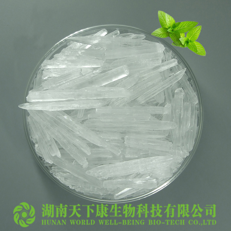 89-78-1 CAS No. and 99.9% Purity pharmaceutical grade menthol crystal
