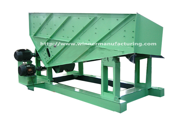 Winner ZZF vibrating feeder for mineral processing industry