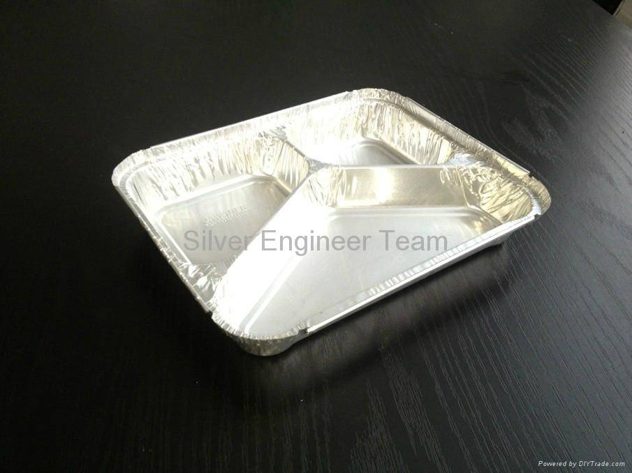 Y-three compartment container mould