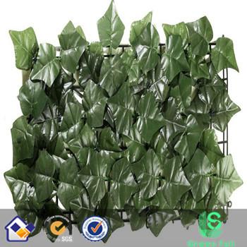 artificial ivy leaf fence
