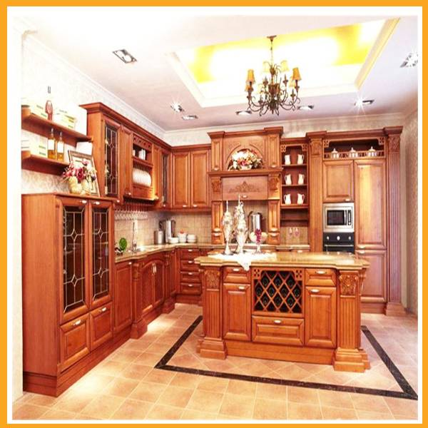 solid wood kitchen furniture kitchen cabinet