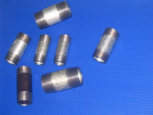 carbon steel pipe/barrel nipples WELDED BSPT or NPT THREADS