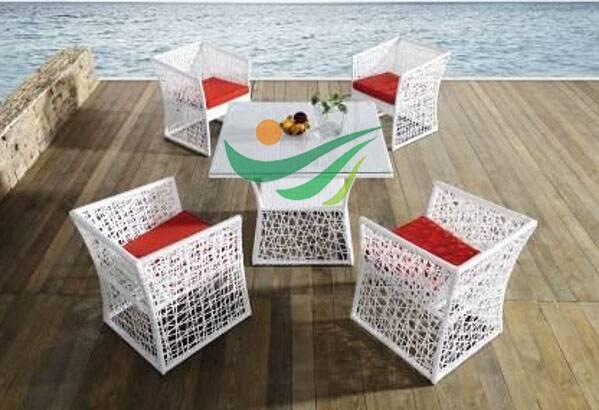 2014 new rattan dining set