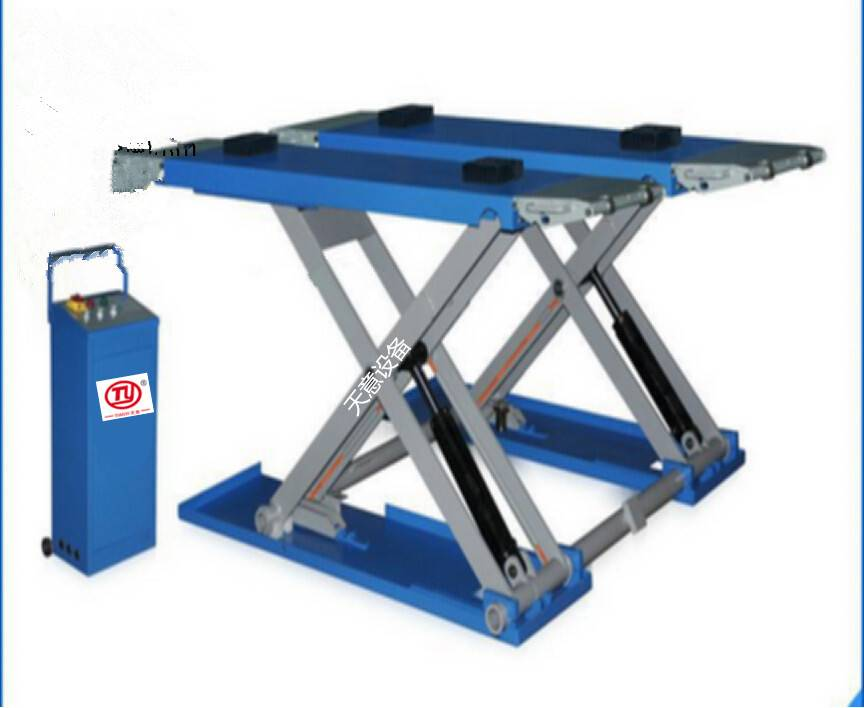 Tianyi car lift/scissor car lift/lift car/mid rise scissaor car lift