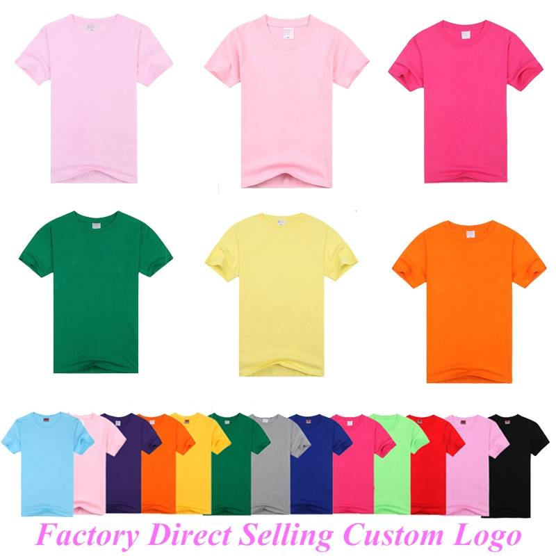 100% Cotton Plain Men Cheap Custom Printed T Shirt