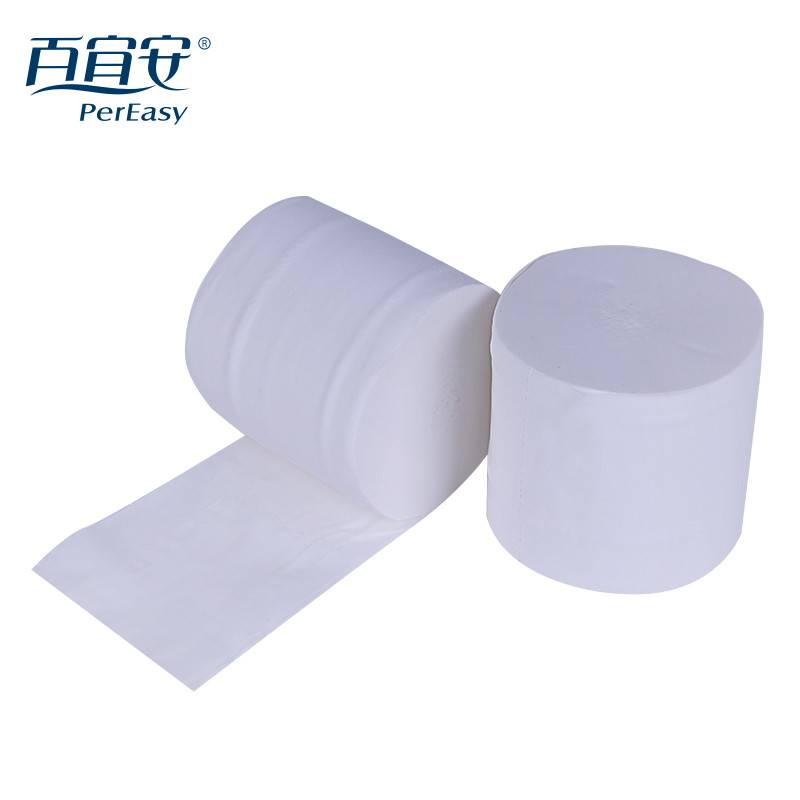 Individually Packing Green Unbleached Bamboo Pulp Toilet Tissue Paper Product/Papel Higienico