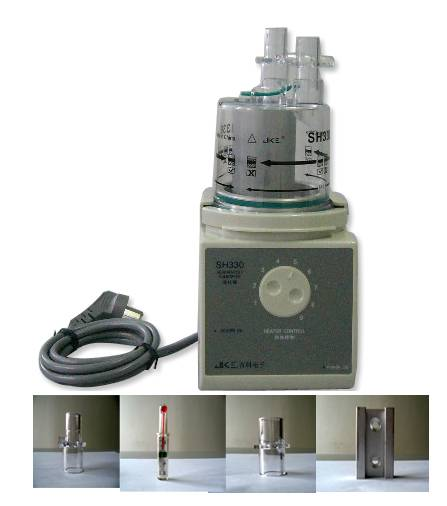 heated humidifier for medical ventilators