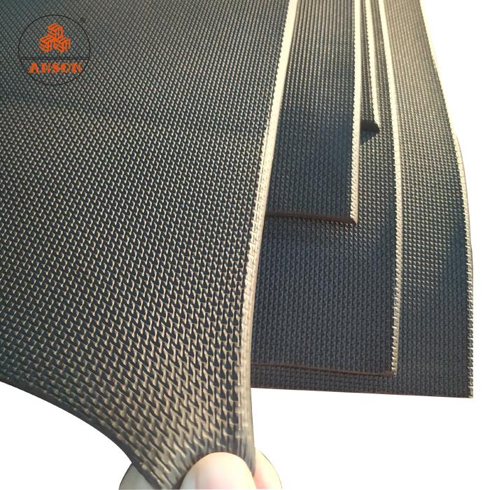 3mm stretchy embossed sharkskin fabrics skidproof embossed neoprene sponge
