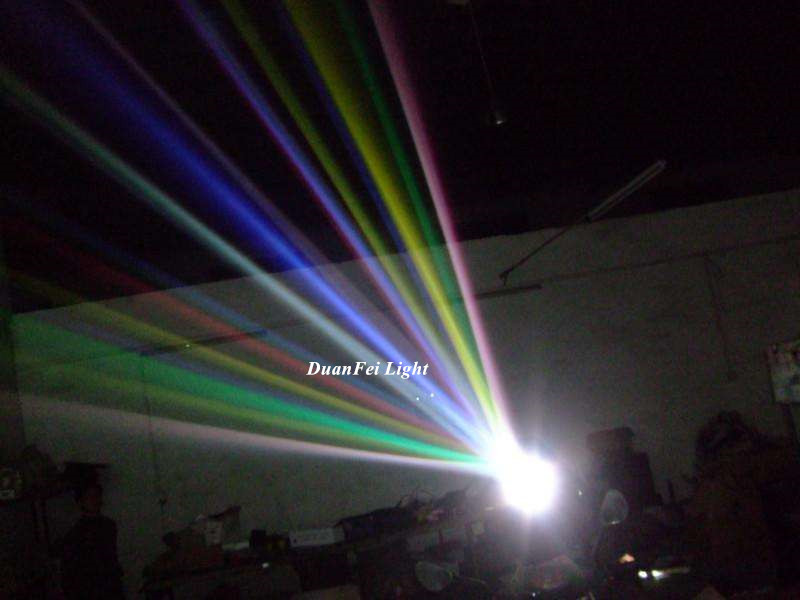 Outdoor color fulMuilti beam 4000W Xenon sky rose lamp