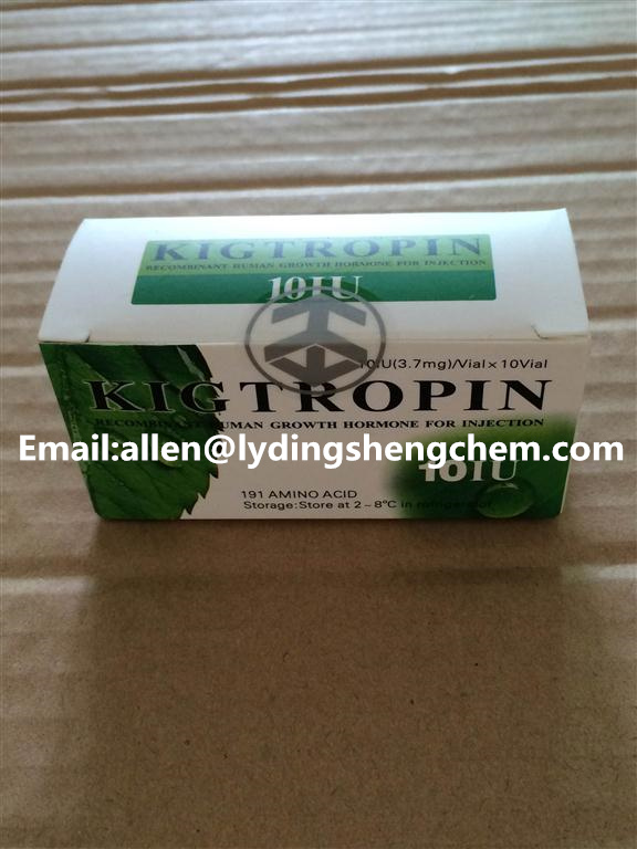 supply HGH, Human Growth Hormone, Kigtropin manufacturers (10IU/vial , 10vials/kit) for Losing Cellu