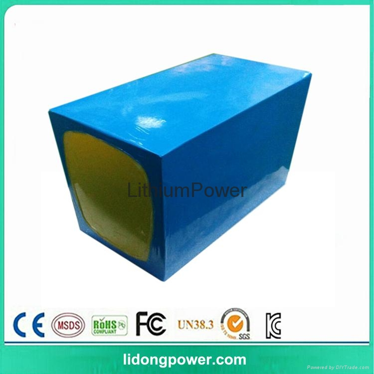 48V LiFePO4 rechargeable 100Ah batteries for solar system 5kw