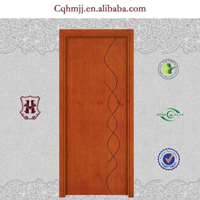 New design wooden door for bedroom