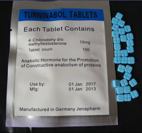 Turninabol 4-Chlorodehy dromethyl testosterone Tablets