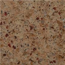 Manmade Multicolor Engineered Quartz stone