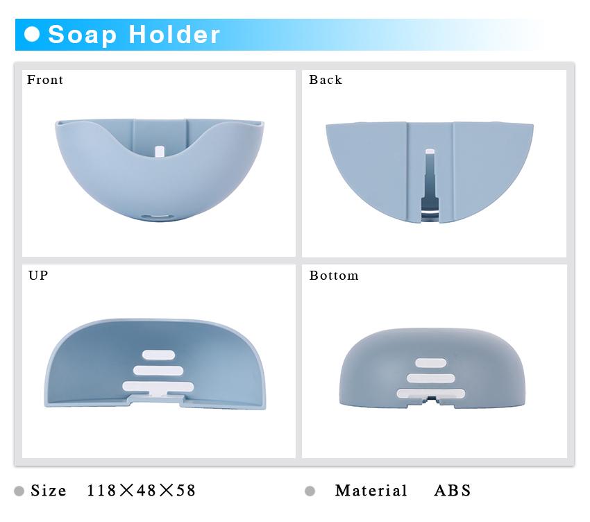 DIY soap holder reusable plastic fashion soap holder for sell