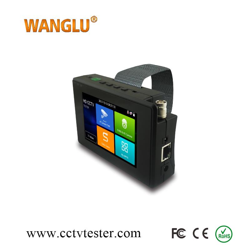 Cheapest IP Analog CVI TVI AHD wifi cctv monitor camera tester new IPC-1800ADH Plus